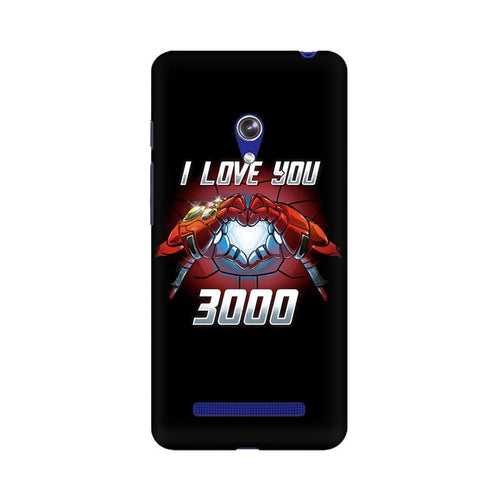 I Love You 3000  Multicolour Phone Case For Asus Zenfone Go