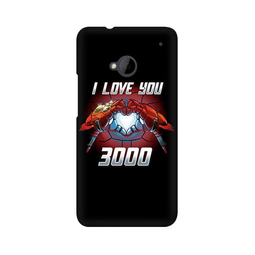 I Love You 3000  Multicolour Phone Case For HTC One M7