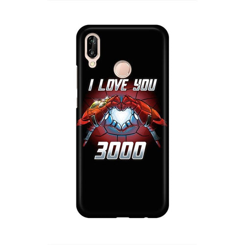 I Love You 3000  Multicolour Phone Case For Huawei P20 Lite
