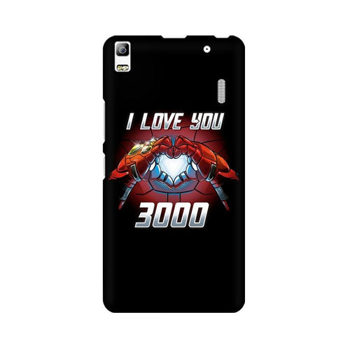 I Love You 3000  Multicolour Phone Case For Lenovo K3 Note