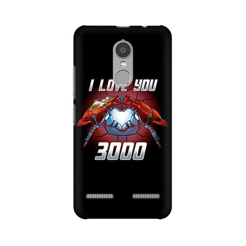 I Love You 3000  Multicolour Phone Case For Lenovo Vibe K6