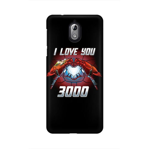 I Love You 3000 Multicolour Case For Nokia 3 point 1