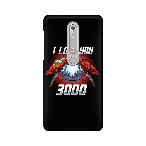 I Love You 3000 Multicolour Case For Nokia 6 point 1