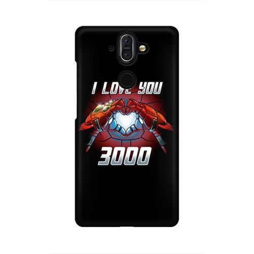 I Love You 3000 Multicolour Case For Nokia 8 Sirocco
