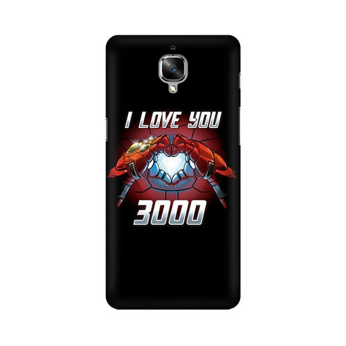 I Love You 3000 Multicolour Case For OnePlus 3T