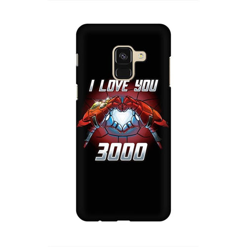 I Love You 3000 Multicolour Case For  Samsung A8 (2018)