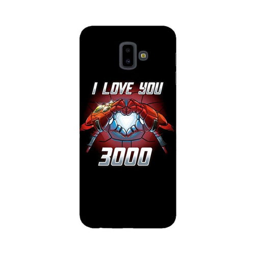 I Love You 3000 Multicolour Case For  Samsung J6 Plus