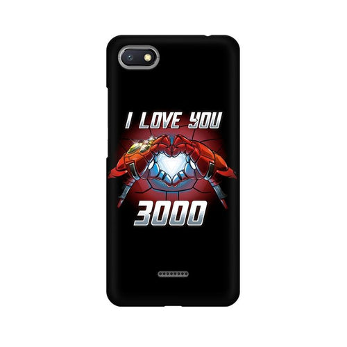 I Love You 3000 Multicolour Case For Xiaomi Redmi 6A