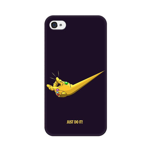 Just Do It  Multicolour Phone Case For Apple iPhone 4s