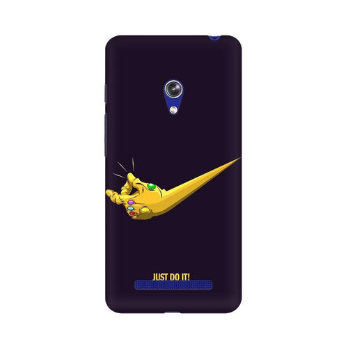 Just Do It  Multicolour Phone Case For Asus Zenfone Go