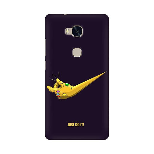 Just Do It  Multicolour Phone Case For Huawei Honor 5X