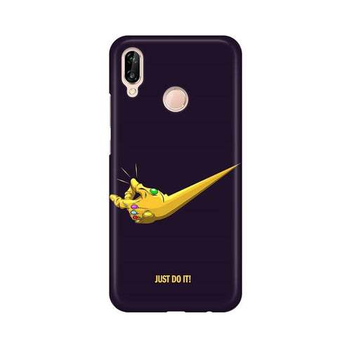 Just Do It  Multicolour Phone Case For Huawei P20 Lite