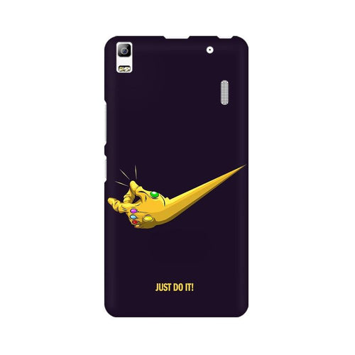 Just Do It  Multicolour Phone Case For Lenovo K3 Note