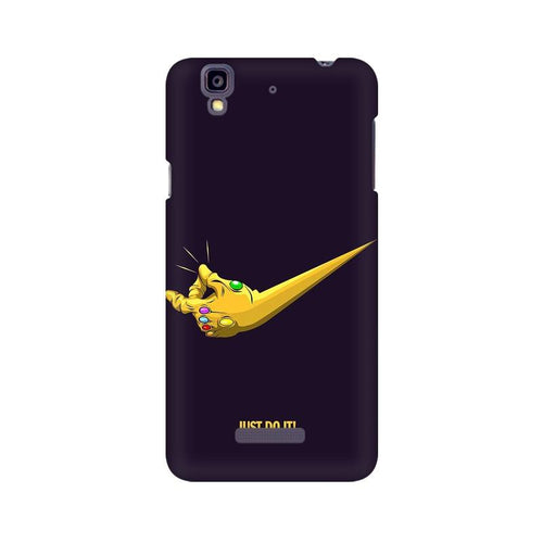 Just Do It  Multicolour Phone Case For Micromax YU Yureka A5510