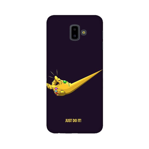 Just Do It Multicolour Case For  Samsung J6 Plus