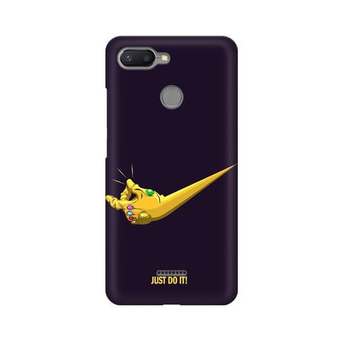 Just Do It Multicolour Case For Xiaomi Redmi 6