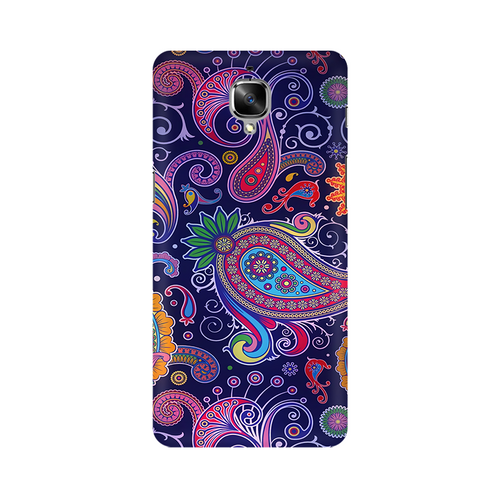Paisleys Multicolour Case For OnePlus 3T