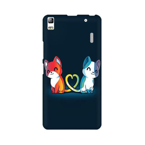 Purrfect Match Multicolour Phone Case For Lenovo K3 Note
