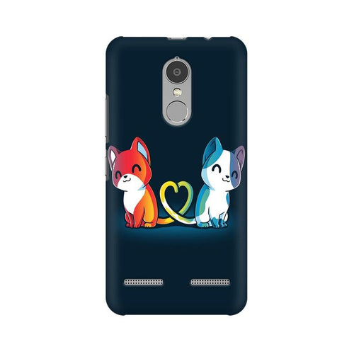 Purrfect Match Multicolour Phone Case For Lenovo Vibe K6