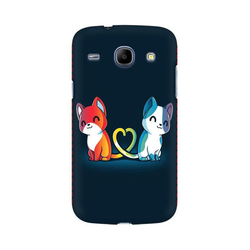 Purrfect Match Multicolour Case For  Samsung Core I8262