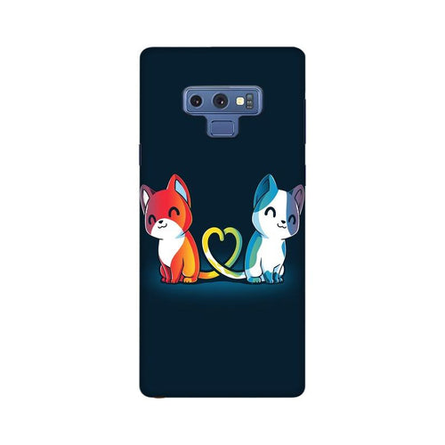 Purrfect Match Multicolour Case For  Samsung Note 9