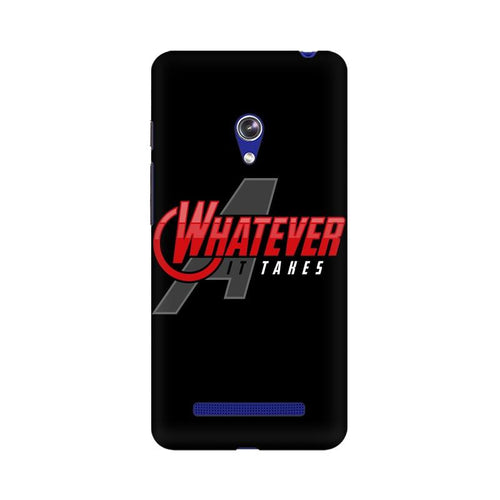 Whatever It Takes Multicolour Phone Case For Asus Zenfone Go