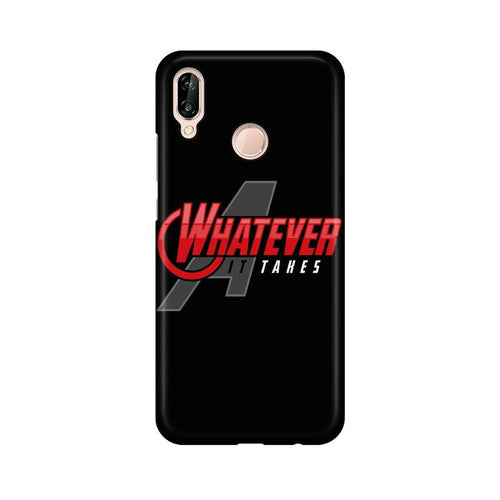 Whatever It Takes Multicolour Phone Case For Huawei P20 Lite