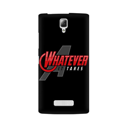 Whatever It Takes Multicolour Phone Case For Lenovo A2010