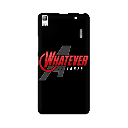 Whatever It Takes Multicolour Phone Case For Lenovo K3 Note