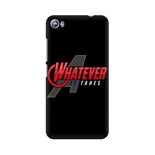Whatever It Takes Multicolour Phone Case For Micromax Canvas Fire 4 A107