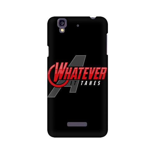 Whatever It Takes Multicolour Phone Case For Micromax YU Yureka A5510