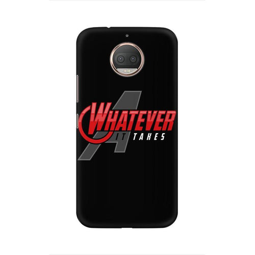 Whatever It Takes Multicolour Phone Case For Moto G5s Plus