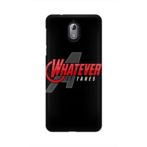 Whatever It Takes Multicolour Case For Nokia 3 point 1