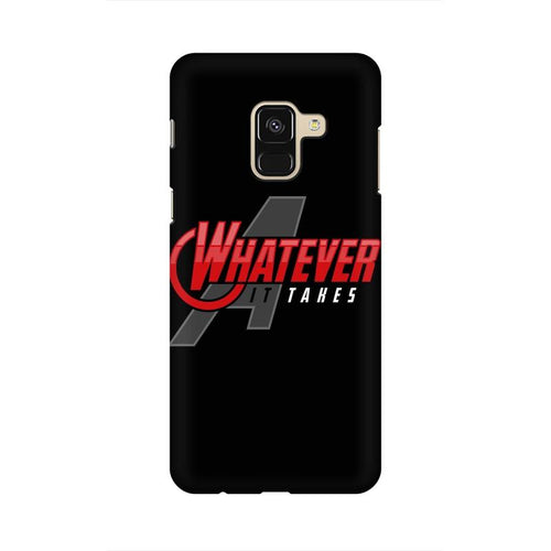 Whatever It Takes Multicolour Case For  Samsung A8 (2018)