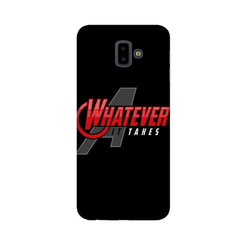 Whatever It Takes Multicolour Case For  Samsung J6 Plus