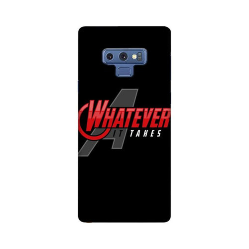 Whatever It Takes Multicolour Case For  Samsung Note 9
