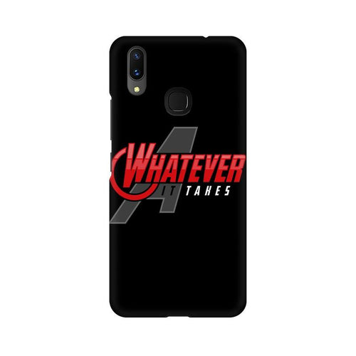 Whatever It Takes Multicolour Case For Vivo X21