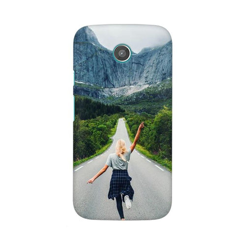 Your Design Multicolour Phone Case For Moto E