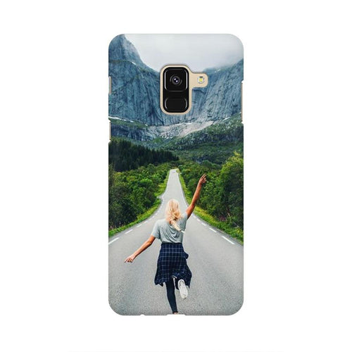 Your Design Multicolour Case For  Samsung A8 (2018)