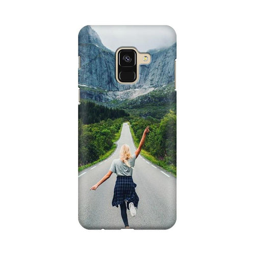 Your Design Multicolour Case For  Samsung A8