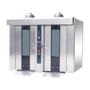 64 Tray Gas Roll-in Oven / Rotary Oven - Double Door