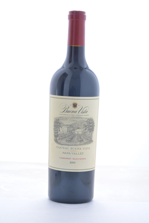 Buena Vista Chateau Buena Vista Napa Valley Cabernet Sauvignon 2015 - 750 ML - Wine on Sale