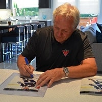 Darryl Sittler Toronto Maple Leafs Autograph Signing Toronto CoJo Sport Collectables