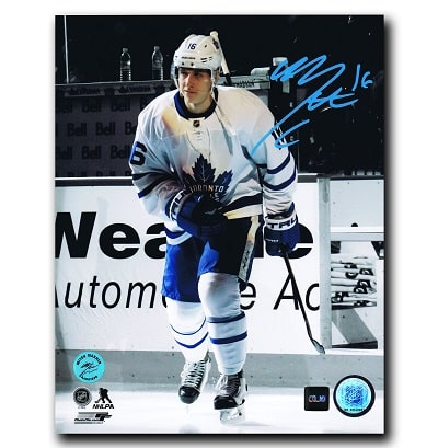 Mitch Marner Toronto Maple Leafs Autographed 8x10 Spotlight Photo