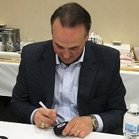 Dale Hawerchuk Winnipeg Jets Autograph Signing Toronto CoJo Sport Collectables
