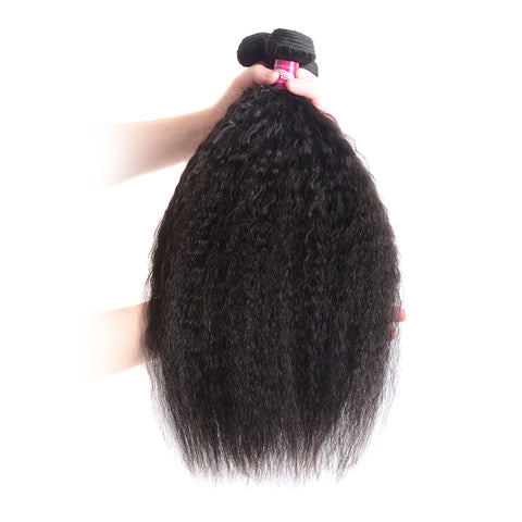 3 PC  Kinky Straight Hair Weave 8-28 inch 100% Human Hair