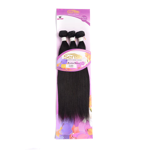 Straight Hair Bundles  / Body Hair Bundles  Brazilian Hair 3PC 100% Human Hair Bundles Natural Color