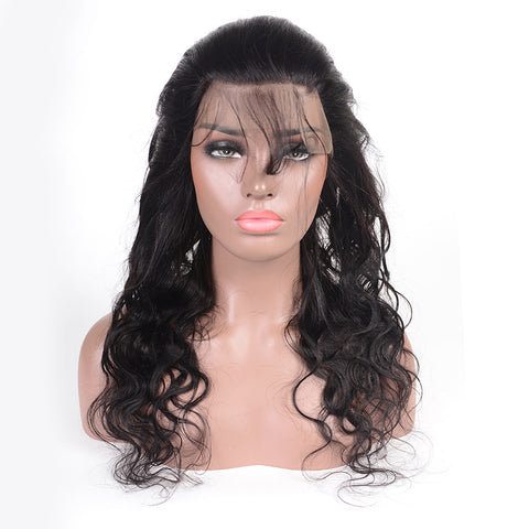 360 Lace Frontal Brazilian Body Human Hair