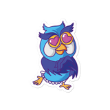 Cartoon Owl - Bubble-free stickers