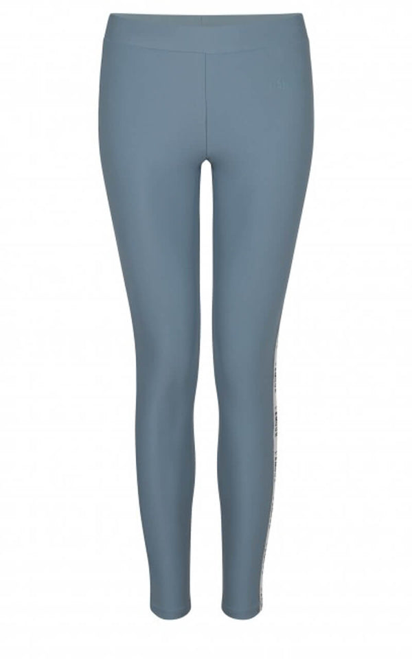 Yoga & Gym Sport Leggings Leo von Love Stories in Hellblau